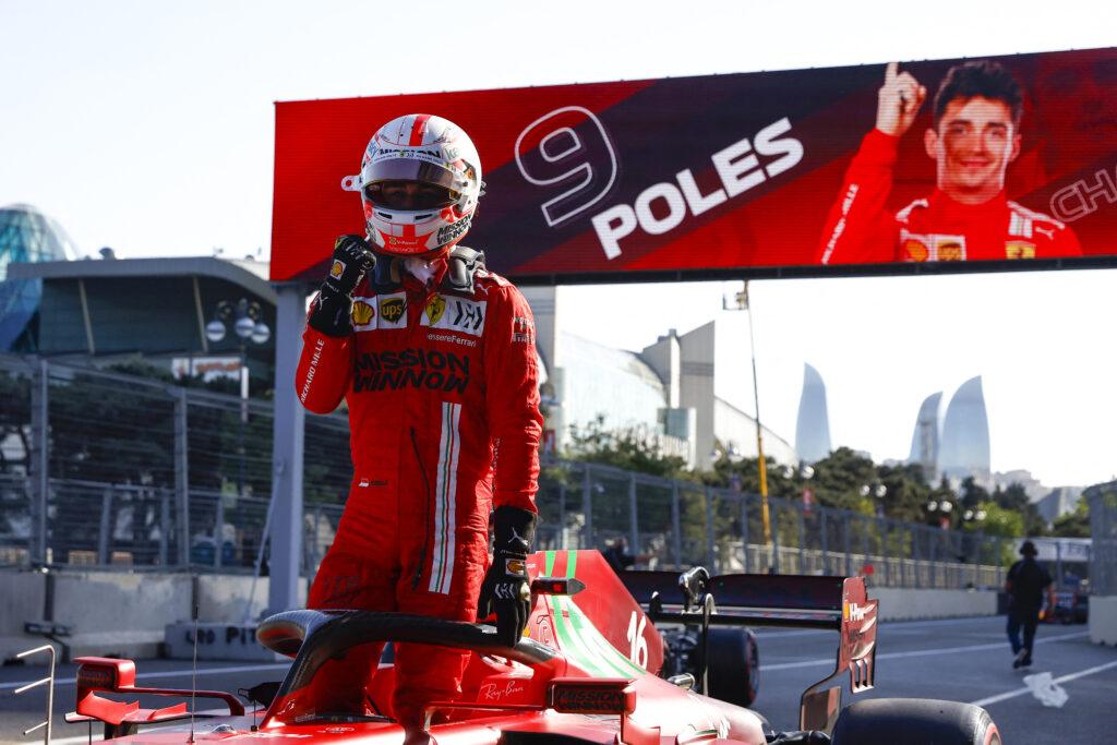 """Leclerc se surpreende com pole: """"Achei que a volta tinha sido uma merda"""""""
