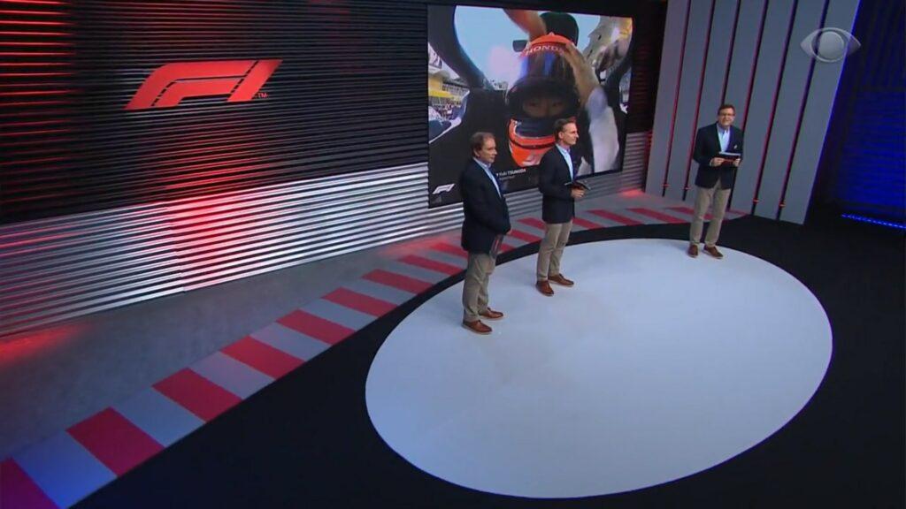 BAND; BAND TV; TRANSMISSÃO BAND F1; FÓRMULA 1;