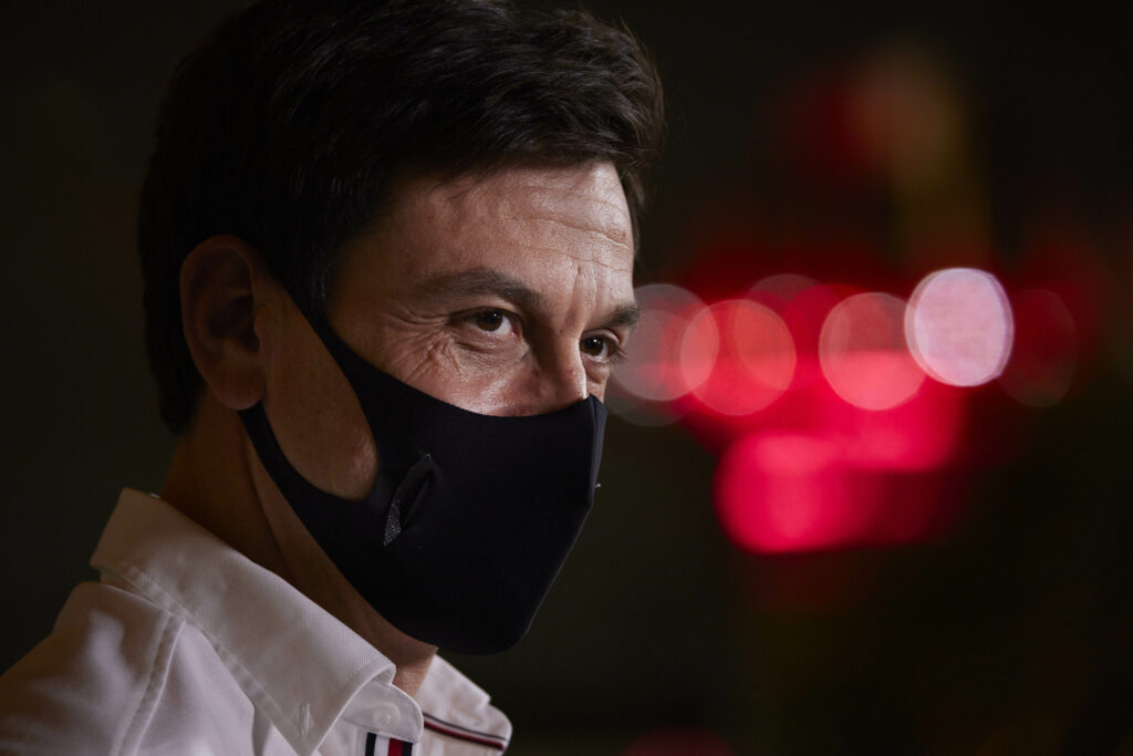 TOTO WOLFF; MERCEDES; GP DO BAHREIN;