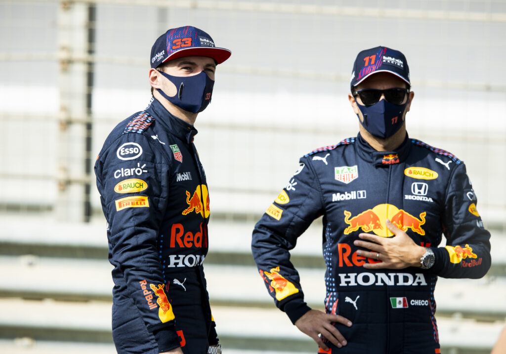 MAX VERSTAPPEN; SERGIO PÉREZ; FÓRMULA 1; F1; F1 2021; RED BULL;