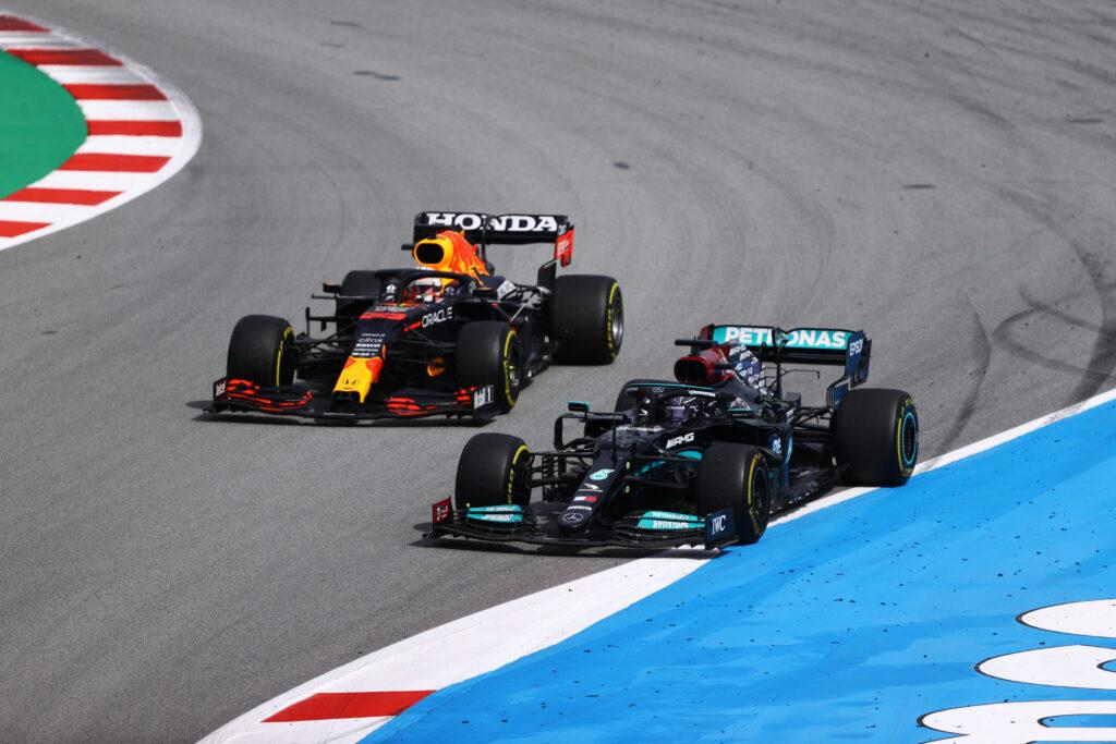 LEWIS HAMILTON; MAX VERSTAPPEN; GP DA ESPANHA; F1;