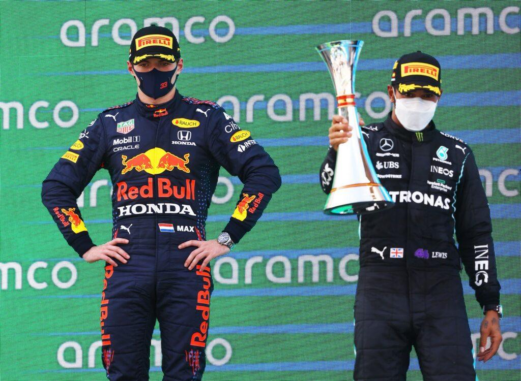 LEWIS HAMILTON; MAX VERSTAPPEN; GP DA ESPANHA; F1; BARCELONA;