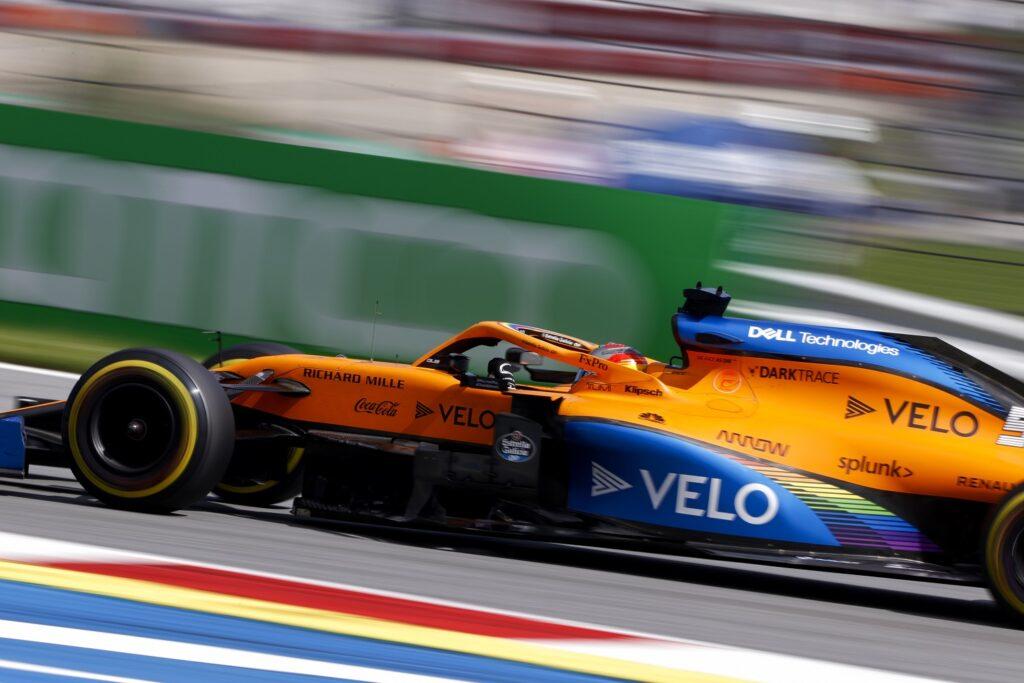 F1 2020 Áustria Red Bull Ring Domingo McLaren Carlos Sainz Jr.