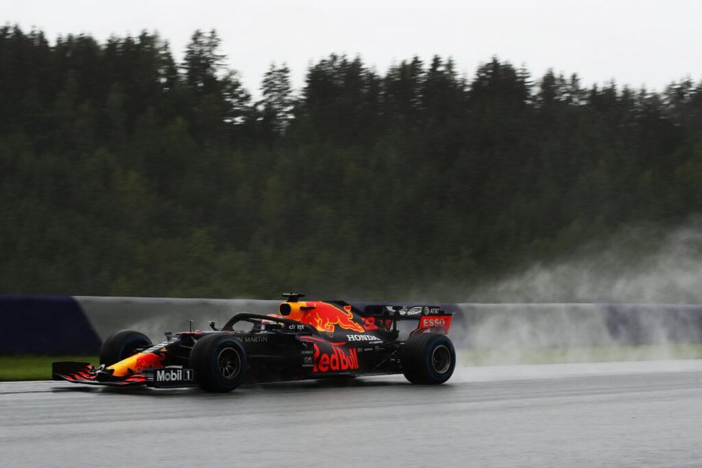 F1 2020 Estíria Red Bull Ring Sábado Red Bull Max Verstappen