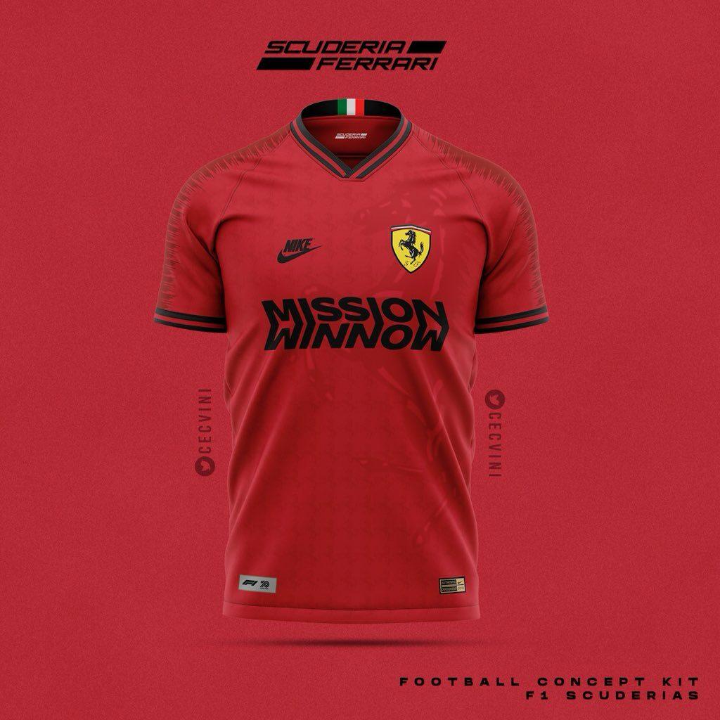 Ferrari, Arte conceito, Futebol