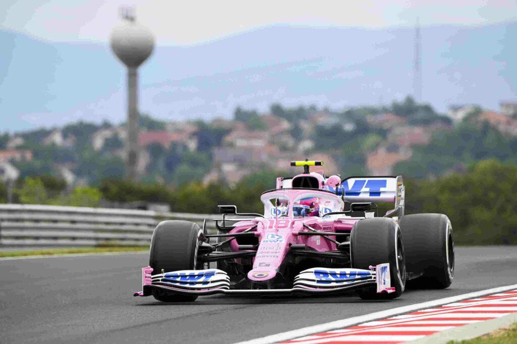 F1; FÓRMULA 1; RACING POINT; GP DA HUNGRIA; LANCE STROLL; TREINO LIVRE 1;