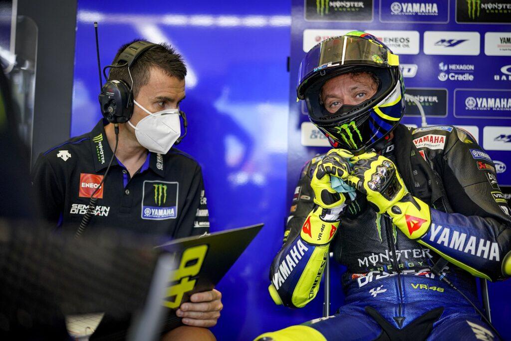 MotoGP 2020 Espanha Jerez Quarta Yamaha Valentino Rossi