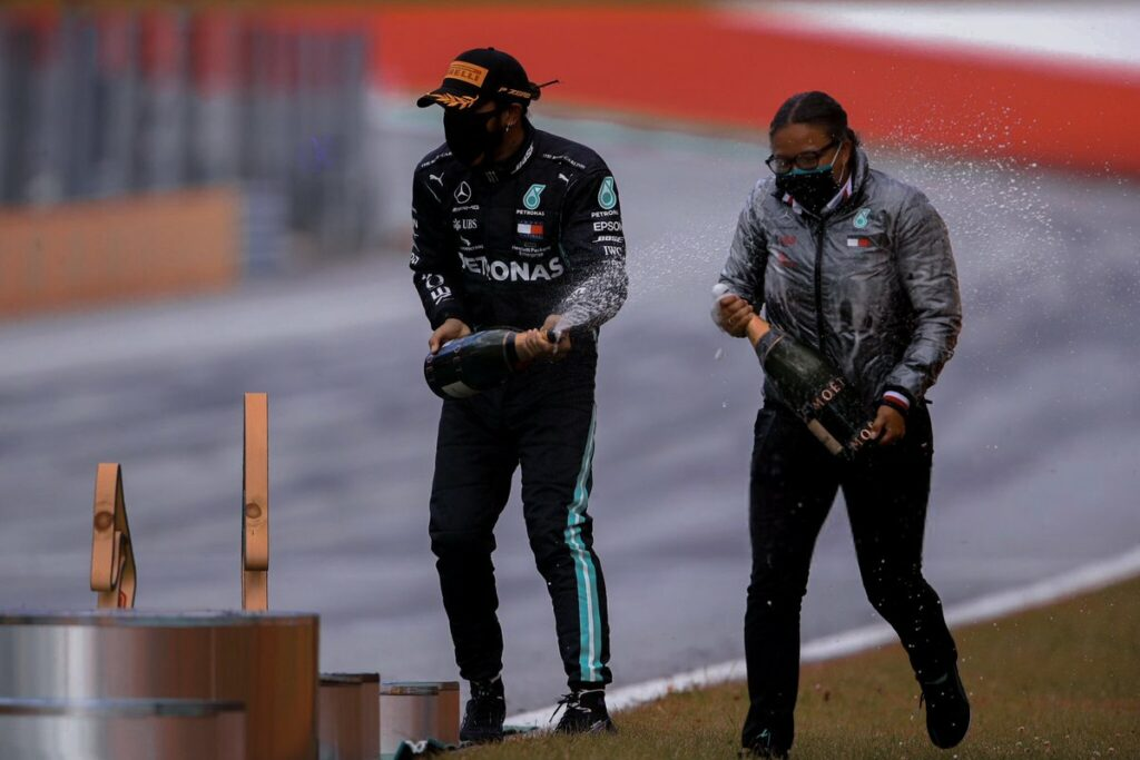 Lewis Hamilton e Stephanie Travers