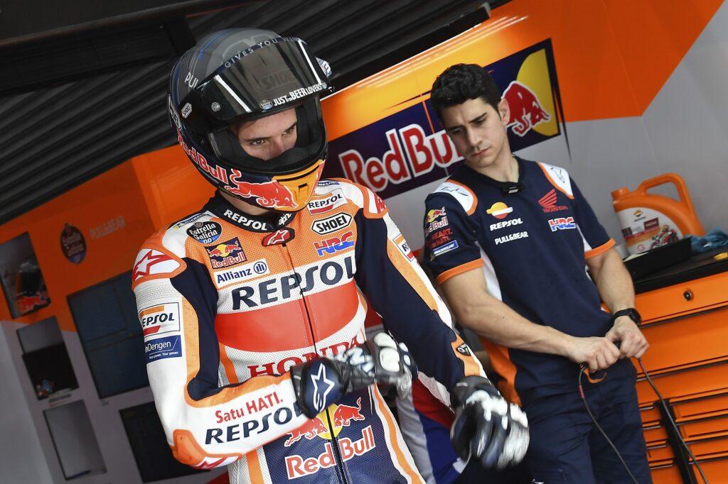MotoGP 2020 Catar Losail Teste Honda Álex Márquez