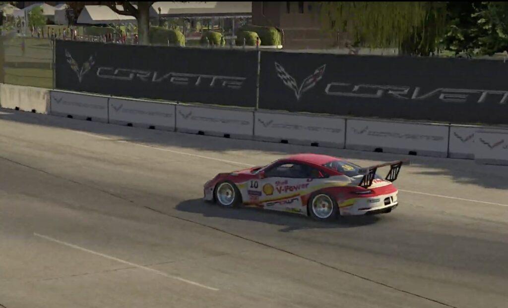 ERICK GOLDNER; PORSCHE 911 GT3 CUP; SHELL RACING;
