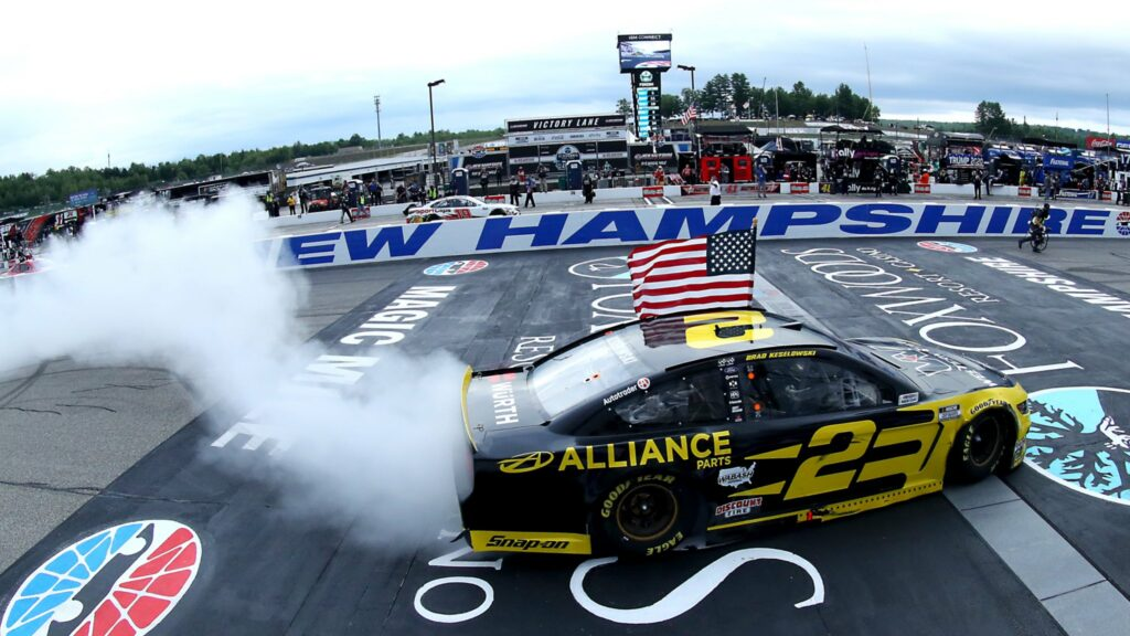 BRAD KESELOWSKI; NASCAR; NEW HAMPSHIRE;