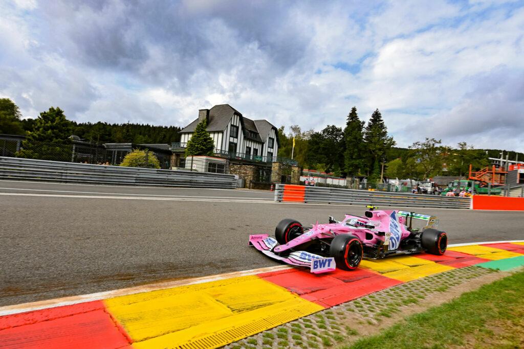 F1; FÓRMULA 1; F1 2020; SERGIO PÉREZ; RACING POINT; GP DA BÉLGICA; SEXTA-FEIRA;