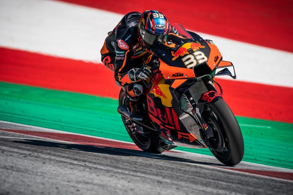 Brad Binder, MotoGP 2020, GP da Estíria, Treino