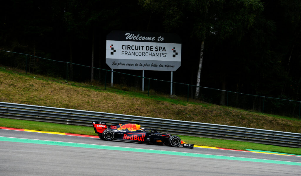 F1; FÓRMULA 1; GP DA BÉLGICA; MAX VERSTAPPEN; RED BULL; SEXTA-FEIRA