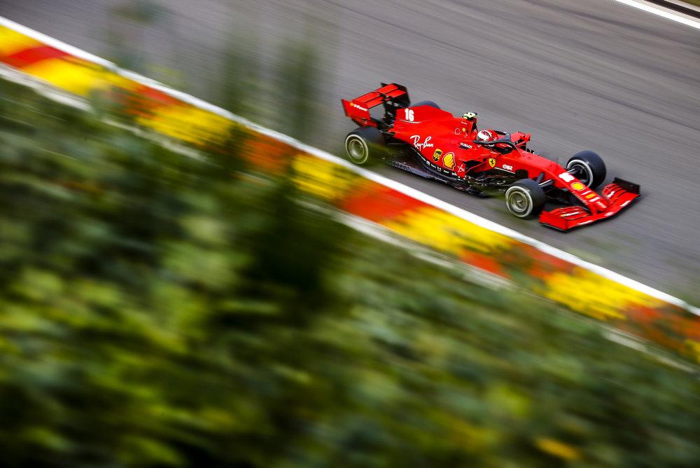 F1; FÓRMULA 1; F1 2020; CHARLES LECLERC; FERRARI; GP DA BÉLGICA;