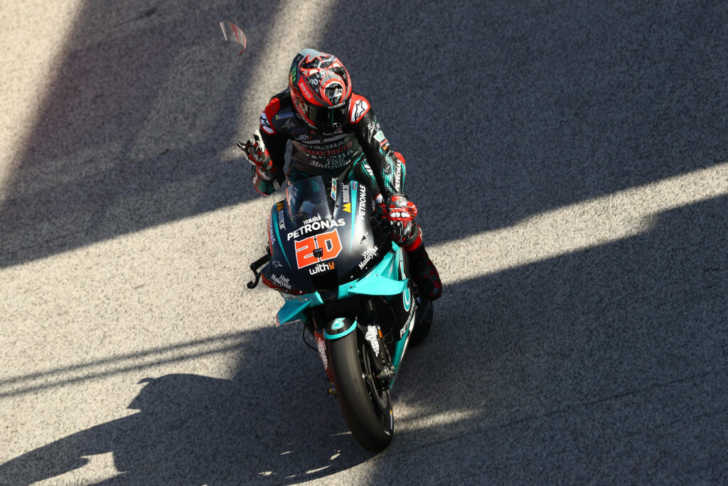 Fabio Quartararo, SRT, MotoGP 2020, GP de San Marino, Treino