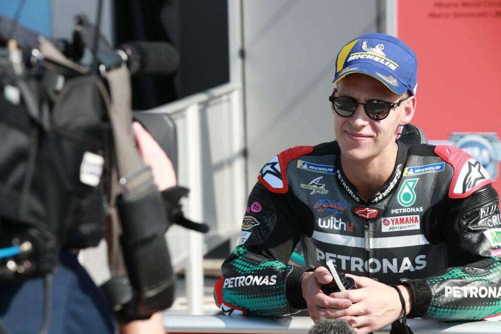 Fabio Quartararo, MotoGP 2020, Misano, Classificação