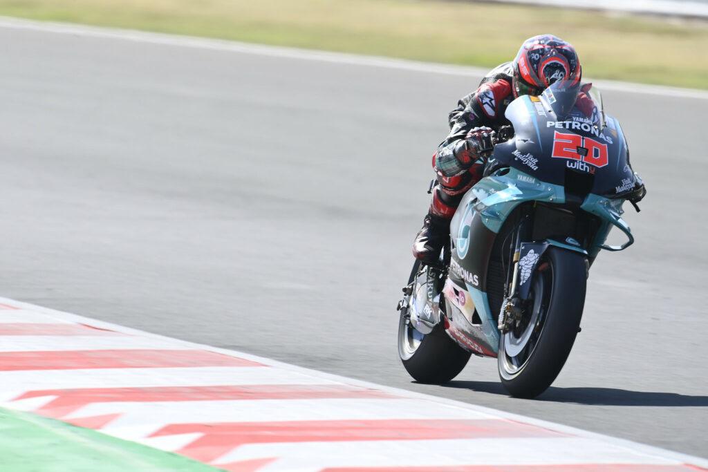 Fabio Quartararo, SRT, MotoGP 2020, GP de San Marino, Corridação