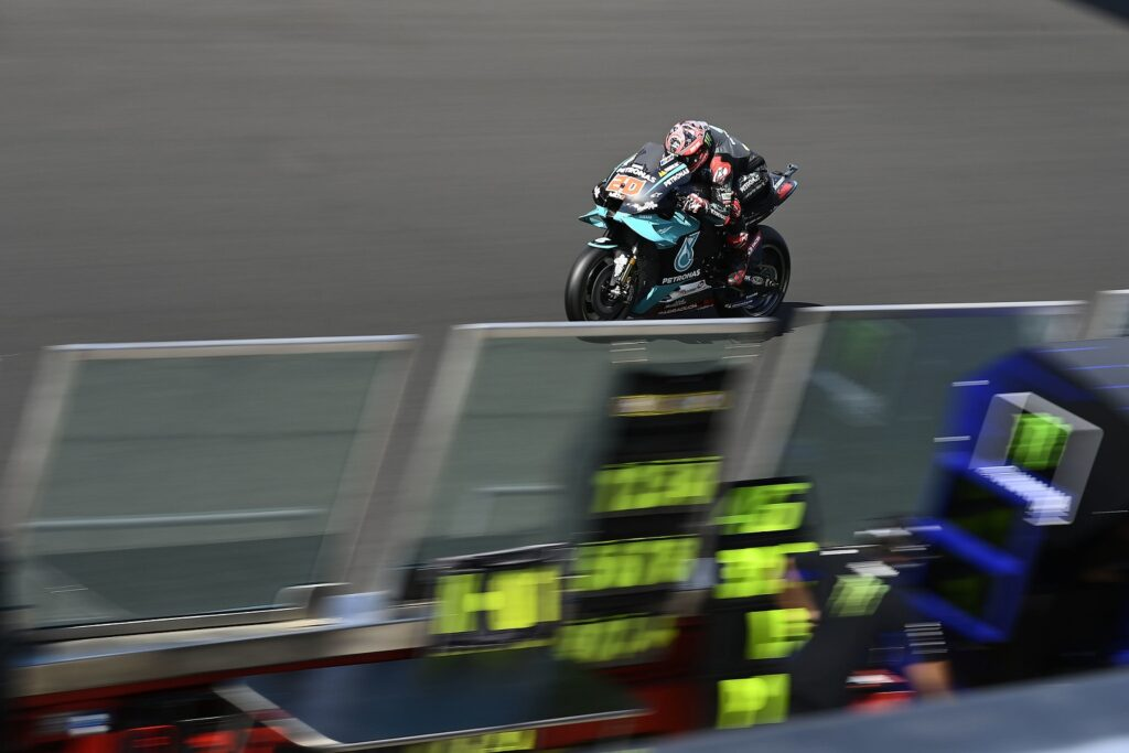 Fabio Quartararo, MotoGP 2020, GP da Emília-Romanha, Classificação