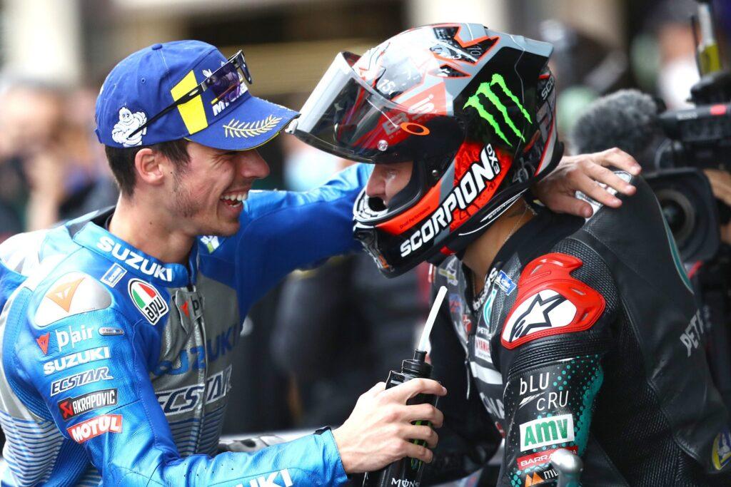 Joan Mir Fabio QUartararo MotoGP 2020 GP da Catalunha