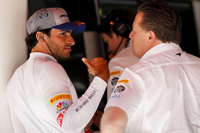 CARLOS SAINZ; ZAK BROWN; MCLAREN;