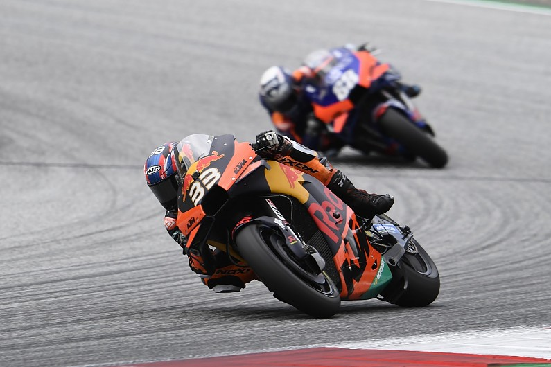 Brad Binder, Miguel Oliveira, KTM, MotoGP 2020
