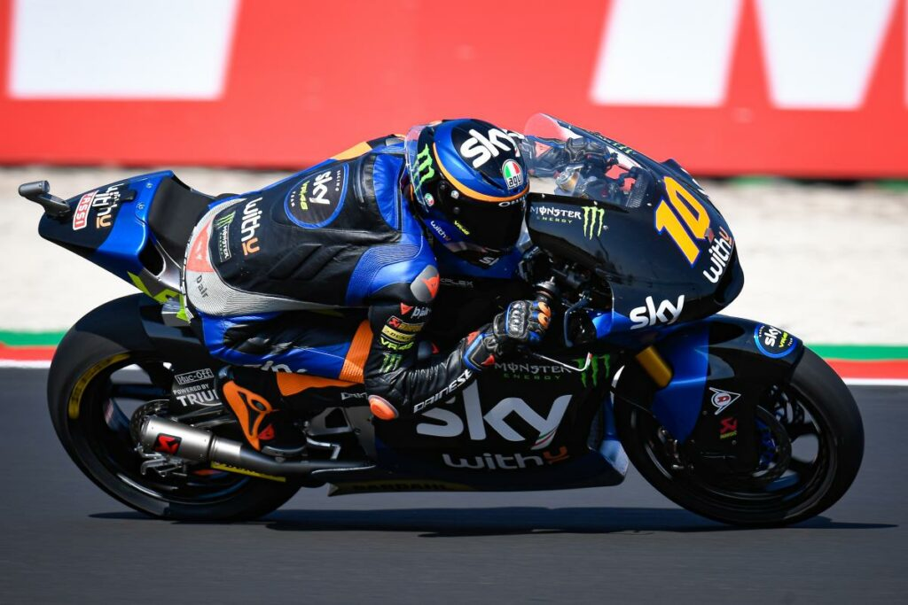 Luca Marini, Moto2 2020, Misano