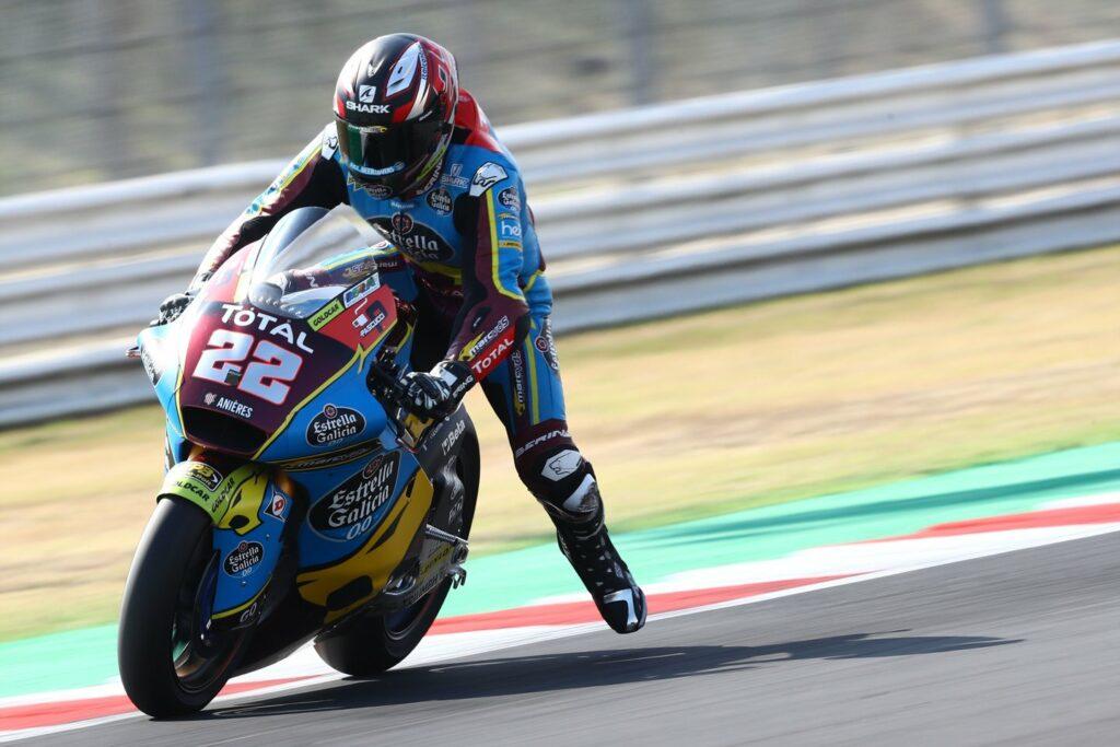 Sam Lowes, Moto2 2020, GP da Catalunha, Treino