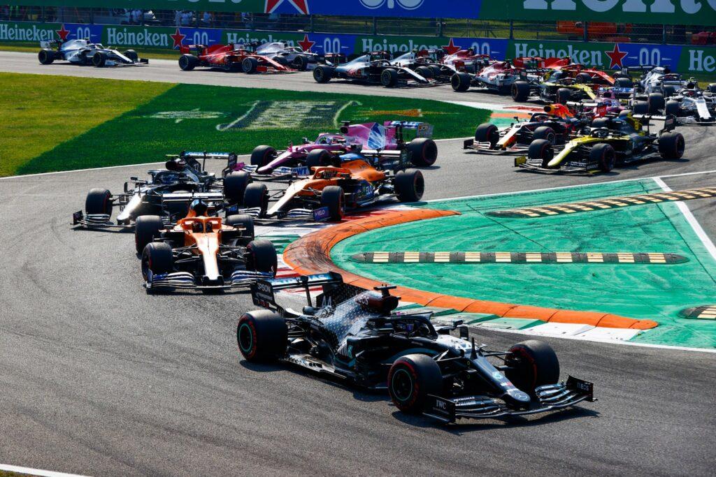 F1; FÓRMULA 1; GP DA ITÁLIA; LARGADA;