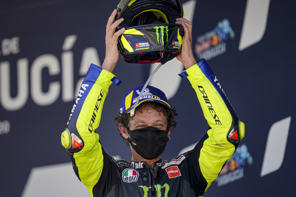 Valentino Rossi, MotoGP 2020, GP da Andaluzia