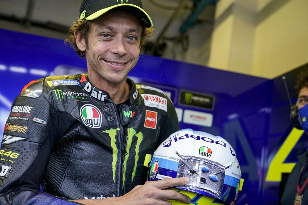 Valentino Rossi, MotoGP 2020, GP da Emília-Romanha, Classificação