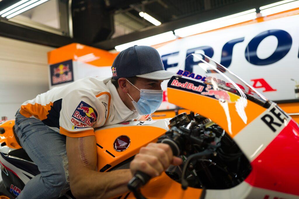 Marc Márquez, Honda, MotoGP 2020, Barcelona