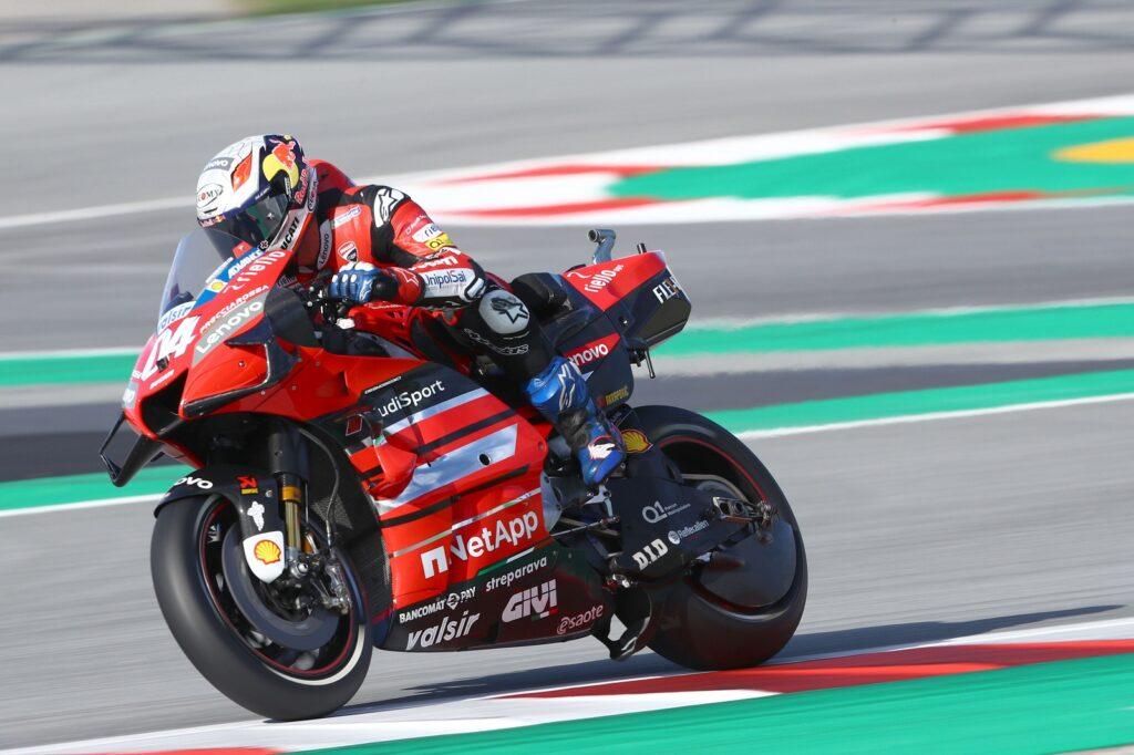 Andrea Dovizioso, MotoGP 2020, GP da Catalunha, Classificação