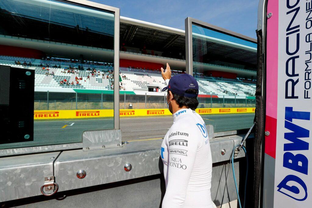 SERGIO PÉREZ; RACING POINT; MUGELLO; F1; SEXTA-FEIRA;