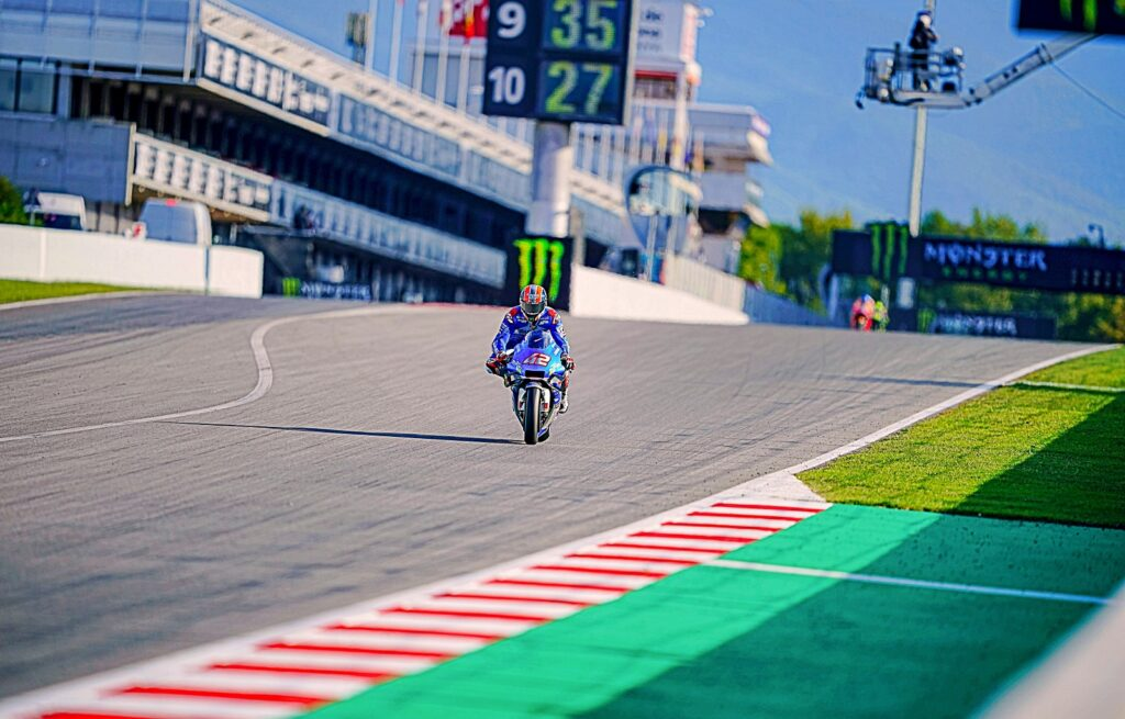 Álex Rins, MotoGP 2020, GP da Catalunha, Classificação