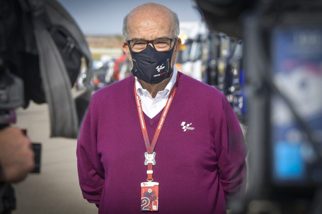 Carmelo Ezpeleta, MotoGP 2020, GP de Teruel
