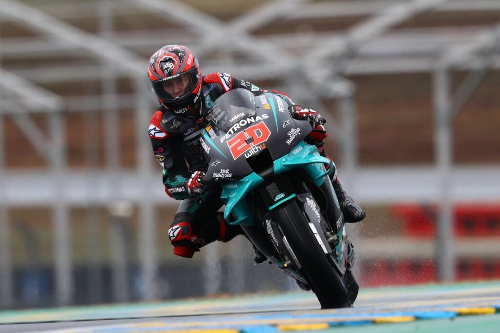 Fabio Quartararo, MotoGP 2020, GP da França, Treino