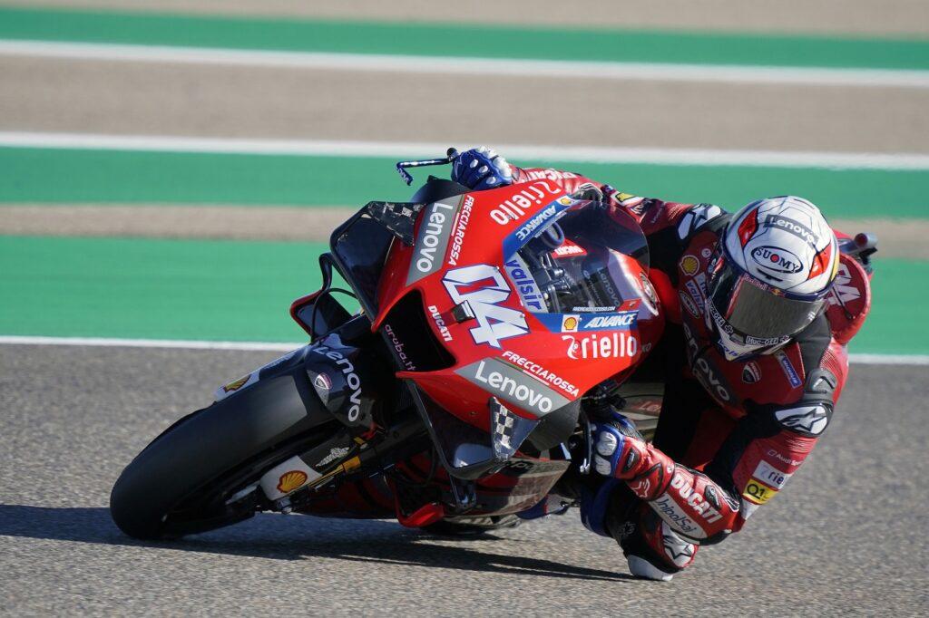 Andrea Dovizioso, Ducati, MotoGP 2020, Aragão, Treino