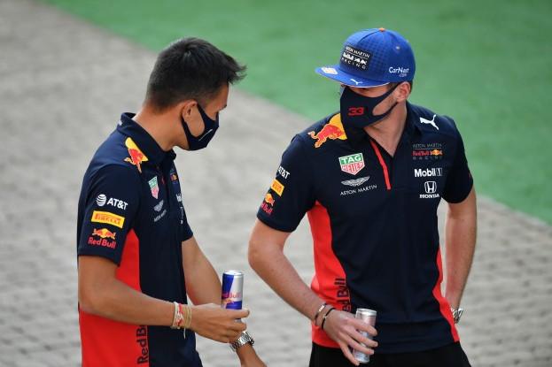 Max Verstappen, Alexander Albon, Fórmula 1 2020, Red Bull