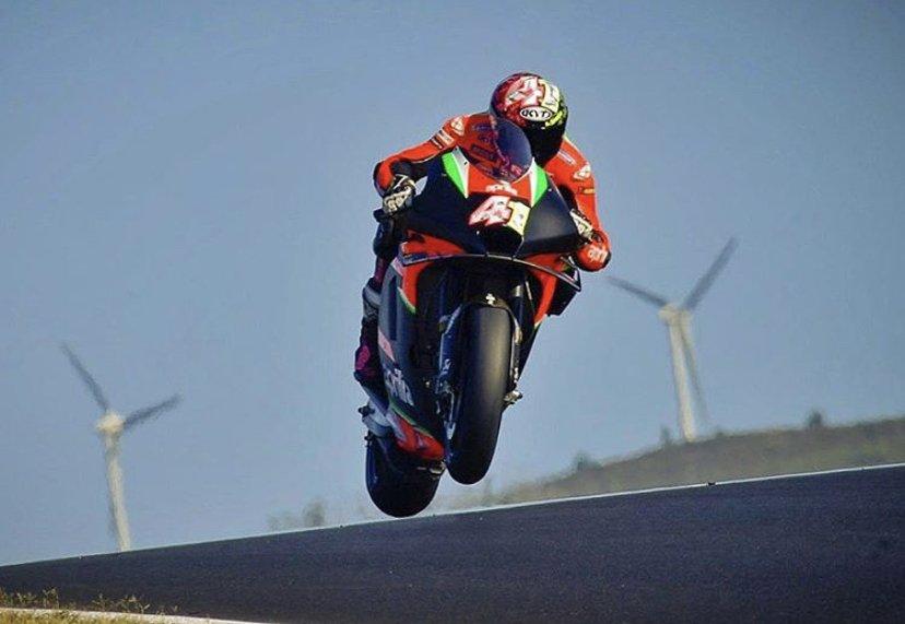 Aleix Espargaró, MotoGP 2020, Portimão, Teste coletivo