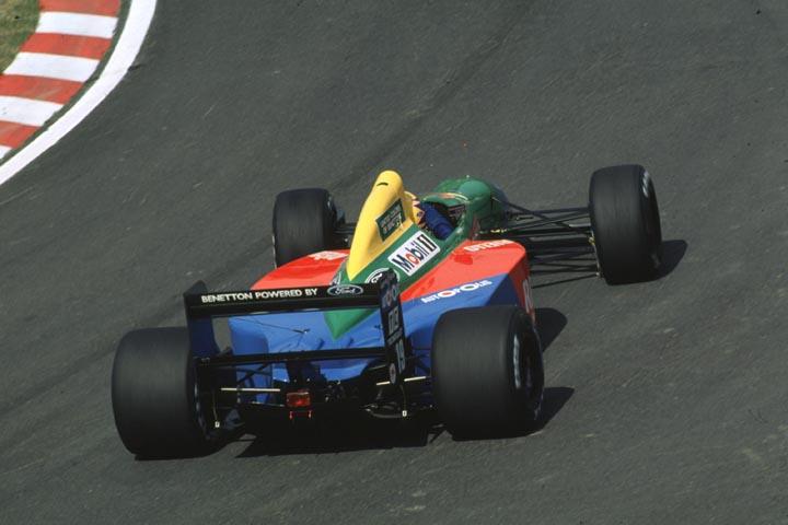 ROBERTO PUPO MORENO; BENETTON; GP DO JAPÃO; 1990; F1; FÓRMULA 1;