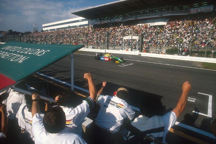 BENETTON; NELSON PIQUET; GP DO JAPÃO; SUZUKA; 1990; F1;