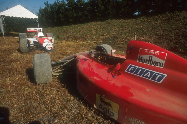 AYRTON SENNA; ALAIN PROST; SUZUKA; GP DO JAPÃO; F1; 1990;