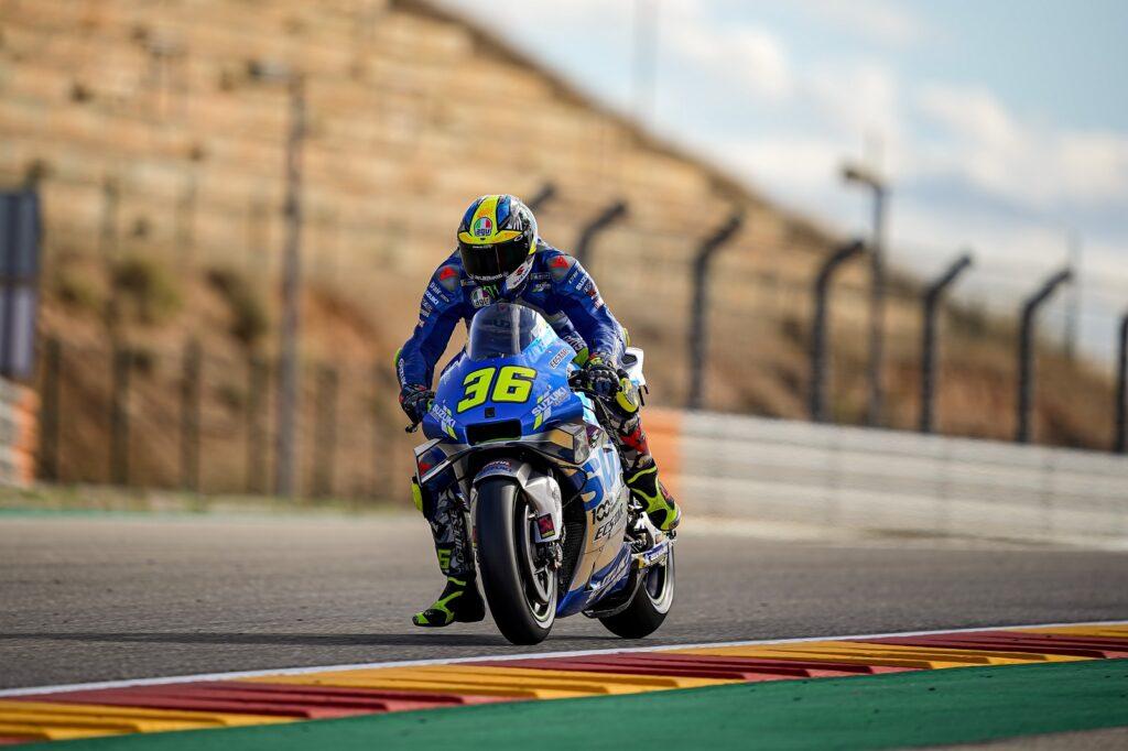 Joan Mir, Suzuki, MotoGP 2020, Aragão, Treino Livre