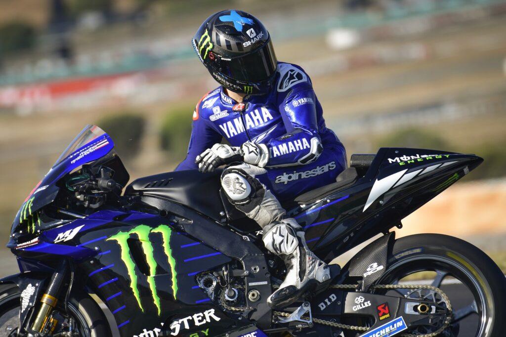 Jorge Lorenzo, Yamaha, MotoGP 2020, Portimão, Teste