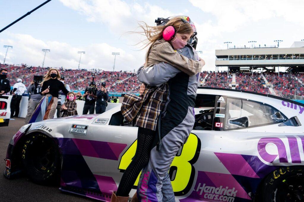 JIMMIE JOHNSON; NASCAR; PHOENIX;