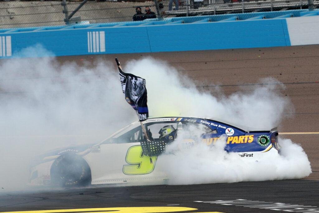 CHASE ELLIOTT; NASCAR; PHOENIX;