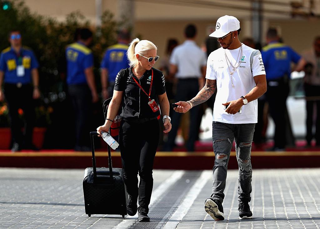 Angela Cullen, Lewis Hamilton, Mercedes