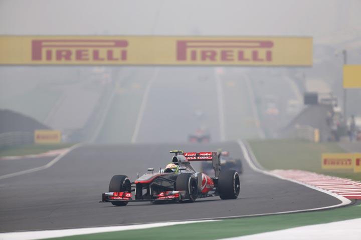 F1; FÓRMULA 1; SERGIO PÉREZ; MCLAREN; GP DA ÍNDIA; 2013