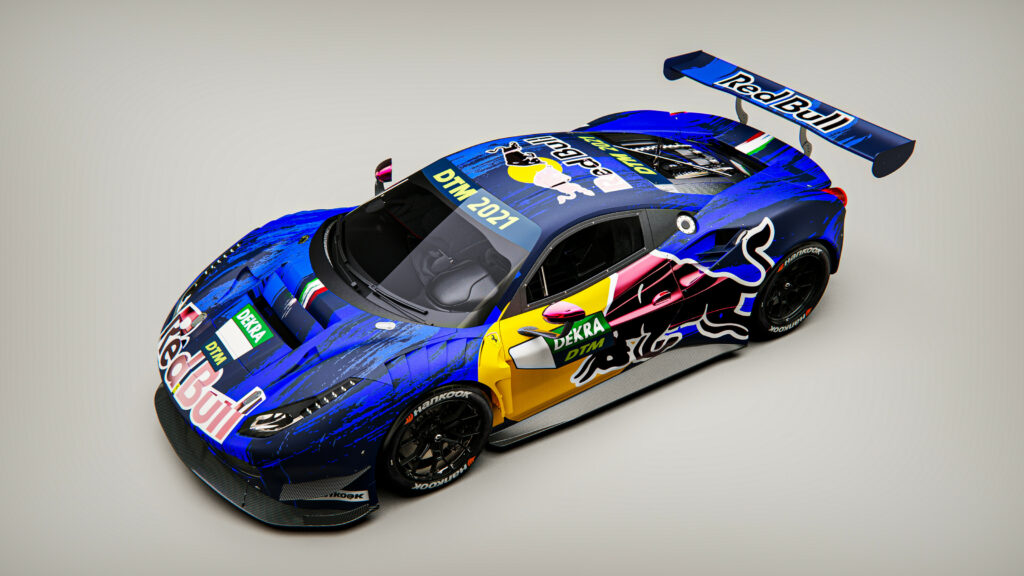 RED BULL; DTM; LIAM LAWSON;